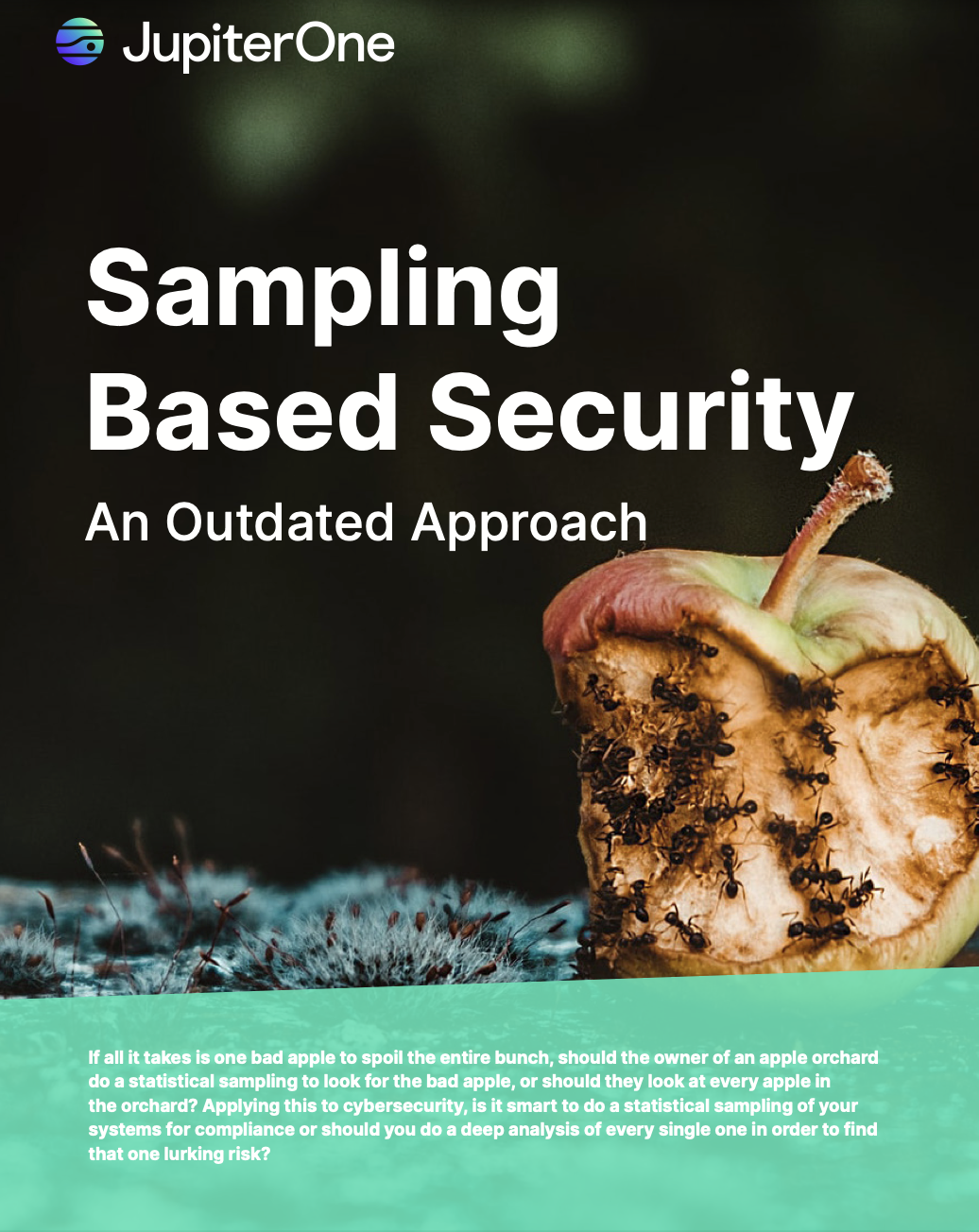 Sampling Based Security An Outdated Approach - JupiterOne E-Book